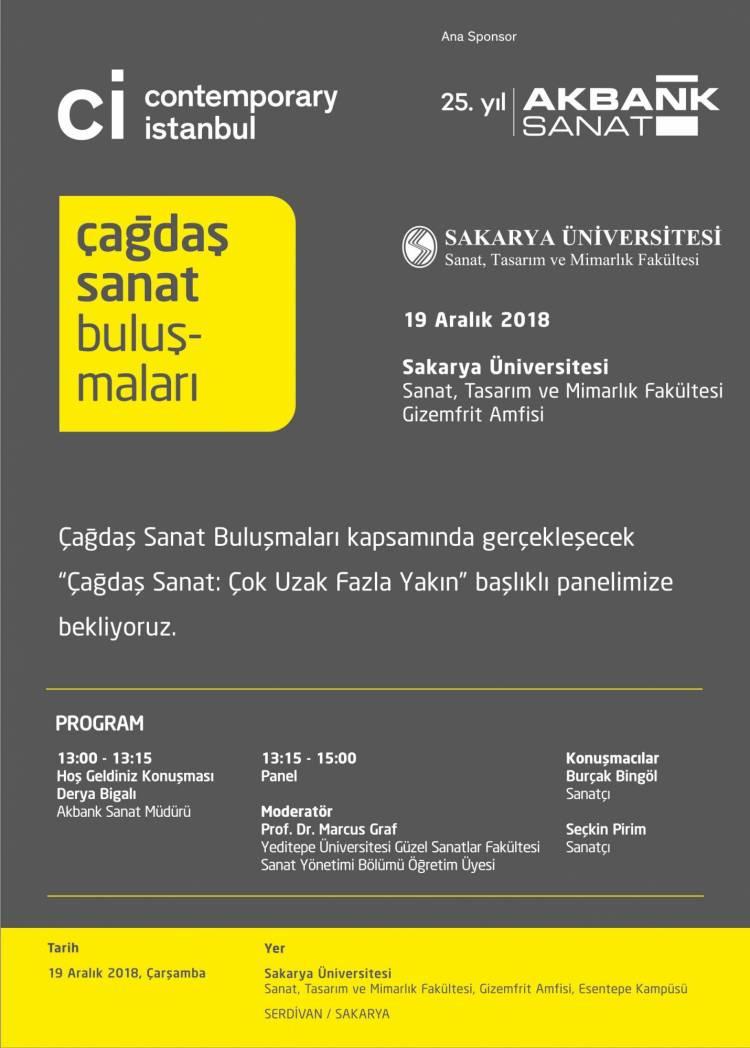 Contemporary Istanbul'un düzenlediği