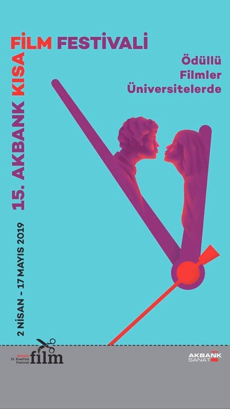 """15. Akbank Kısa Film Festivali'nin """"Ödüllü Filmleri Üniversitelerde"""""""