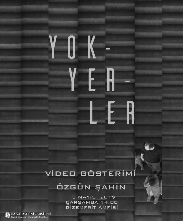 Özgün Şahin'in Video Gösterimi