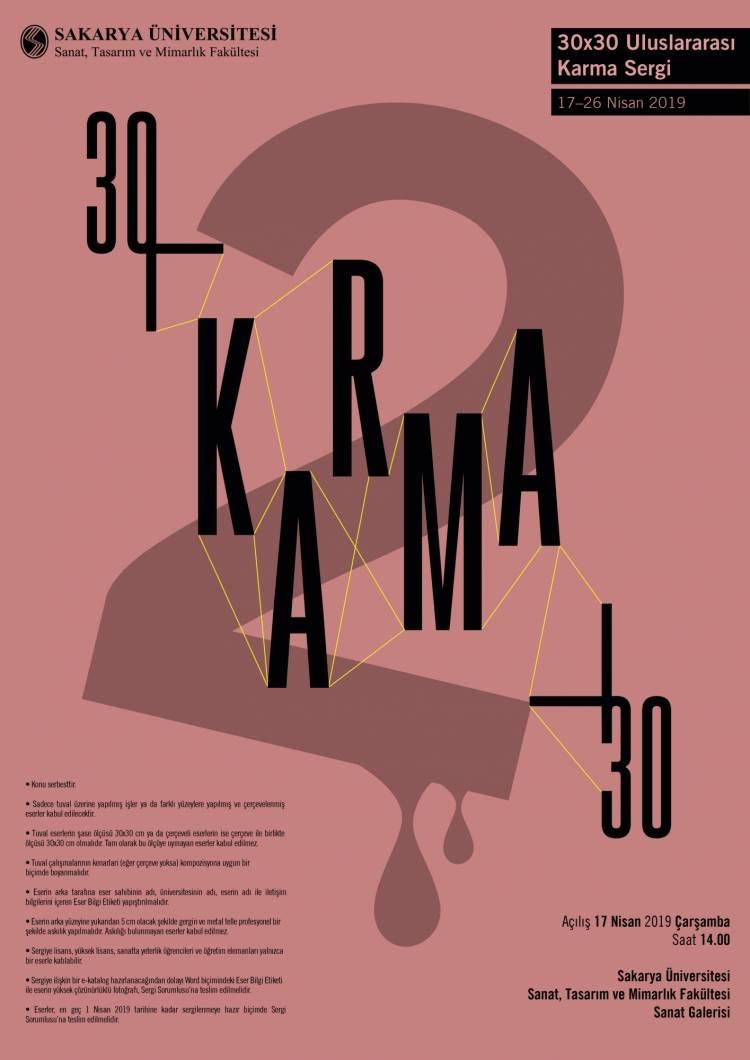 30x30 Uluslararası Karma Sergi